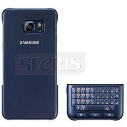 Etui SAMSUNG z klawiaturą QWERTY do Galaxy S6 Edge plus czarna - EJ-CG928BBEGWW