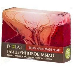 EcLab - Naturalne mydło glicerynowe JAGODOWE