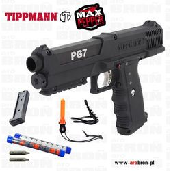 Tippmann PG7 - Zestaw do samoobrony, pistolet pneumatyczny, CO2, kule pieprzowe, obronny
