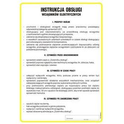 Instrukcja obsługi wciągników elektrycznych