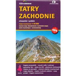 Tatry Zachodnie słowackie i polskie Mapa turystyczna (opr. twarda)