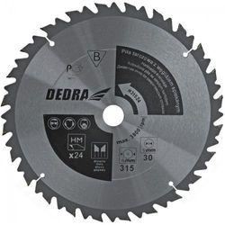 Tarcza do cięcia DEDRA HL45036 350 x 30 mm do drewna z ogranicznikiem posuwu HM
