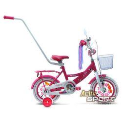 Rower dziecięcy 12 Lilly różowy - Różwy