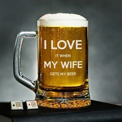 I Love My Wife - Kufel na piwo - Kufel do piwa