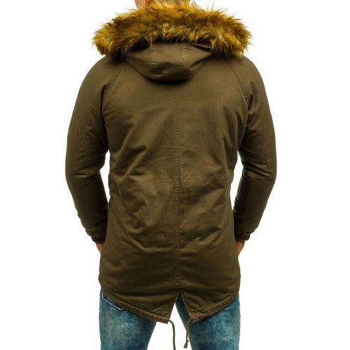 Khaki kurtka męska zimowa parka Denley AK163 porównaj