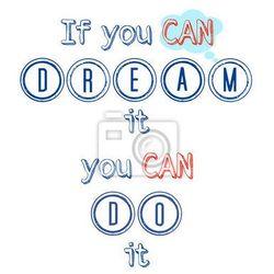 Plakat Czy sen może zrobić