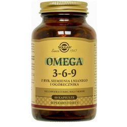 SOLGAR Omega 3-6-9 kaps. 60 kaps.