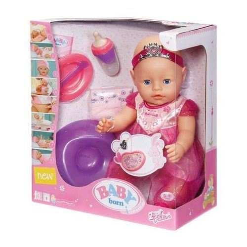 Lalka interaktywna Księżniczka Baby born Princess z akcesoriami 43 cm