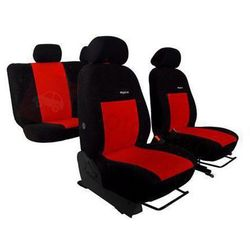 Pokrowce samochodowe ELEGANCE Czerwone Audi 80 B3 1986-1996 - Czerwony