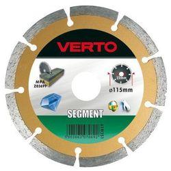 Tarcza do cięcia VERTO 61H3S9_C 230 x 22.2 diamentowa segmentowa