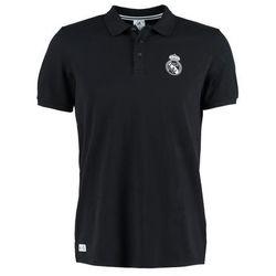 adidas Performance REAL MADRID Koszulka polo black/crayon white