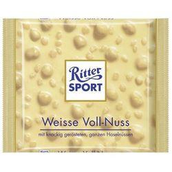 Ritter Sport Biała czekolada z orzechami 100 g