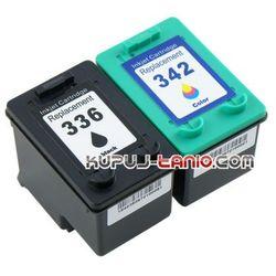 HP336 + HP342 (R) tusze do HP PSC 1510, HP PSC 1500, HP Photosmart C3180, HP Photosmart C3100, HP Photosmart 2575, HP Officejet 6300