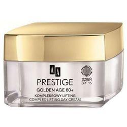AA Prestige Golden Age 60+ Regenerujący krem na noc do skóry wrażliwej i skłonnej do alergii 50 ml