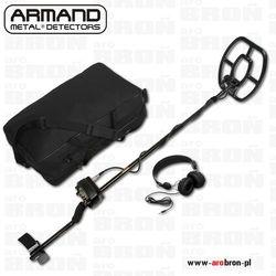 Wykrywacz metalu Armand DOMINATOR 3 - Zestaw /słuchawki, torba, ładowarki/