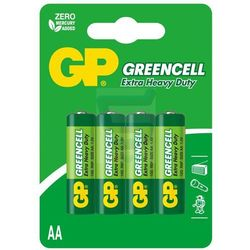 Gp Greencell baterie AA 15G R6 4 szt.