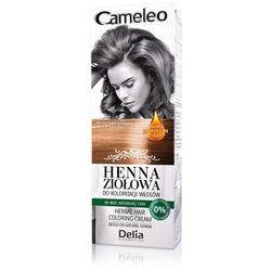 DELIA CAMELEO Henna ziołowa do koloryzacji włosów ORZECH LASKOWY 7.3