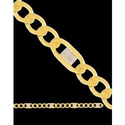 50cm łańcuszek złoty figaro
