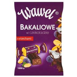 WAWEL 1kg Bakaliowe w czekoladzie Cukierki
