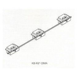 Zestaw wzorników do zawiasów niewidocznych Kubica Koblenz KB-K6200