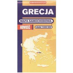 Grecja. Mapa samochodowa