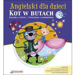 Angielski dla dzieci Kot w butach - wyprzedaż (opr. miękka)