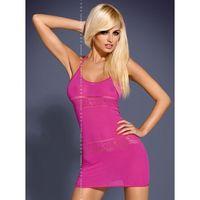 D307 sukienka różowa
