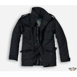 kurtka męskie zimowy BRANDIT - M65 Standard - Black - 3108/2