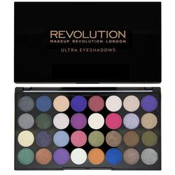 MAKEUP REVOLUTION Ultra Eyeshadows Eyes Like Angels paleta 32 cieni 16g
