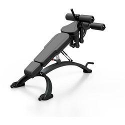 Ławka regulowana na brzuch MF-L005 - Marbo Sport - czarny \ antracyt metalic