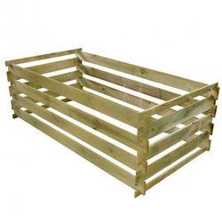 Kompostownik drewniany 0,77 m3 Zapisz się do naszego Newslettera i odbierz voucher 20 PLN na zakupy w VidaXL!