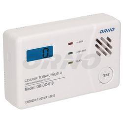 Bateryjny czujnik tlenku węgla (czadu), 3xAA ORNO