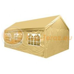 Pawilon Namiot Ogrodowy Imprezowy 4x6m Perel sahara + ścianki
