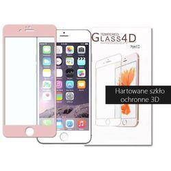 etuo.pl - szkło - Apple iPhone 6s Plus - szkło hartowane 3D - różowy