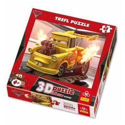 Puzzle 3D TREFL Cars 2 Złomek 48 elementów