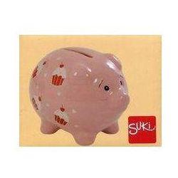 Skarbonka świnka w muffinki