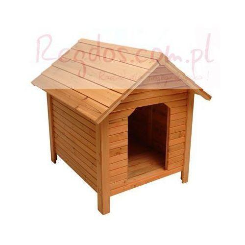 Buda dla psa - Drewniany domek