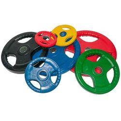 Obciążenie olimpijskie gumowane 20kg kolorowe