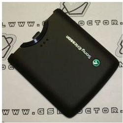 Obudowa Sony Ericsson W960i tylna / pokrywa baterii czarna