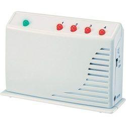 Minisystem alarmowy bezprzewodowy HAS GM-433R, 433,92 MHz, zasięg 60 m, 4 strefy