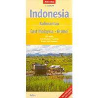 Indonezja, Kalimantan, Malezja wschodnia, Brunei 1:1.500.000. Mapa samochodowa, składana. Nelles Map