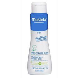 Mustela Bebe, płyn do kąpieli, Bąbelkowa Kąpiel, 200 ml