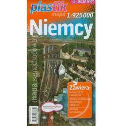 Niemcy plastic mapa samochodowa 1:925 000 (opr. miękka)