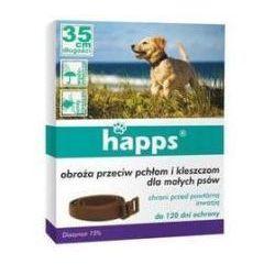 Obroża przeciw pchłom i kleszczom dla małych psów Happs 35 cm