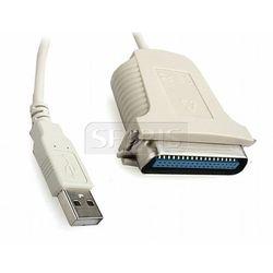 KABEL USB-CENTRONICS LPT (DRUKARKA) 1.8M - CUM360