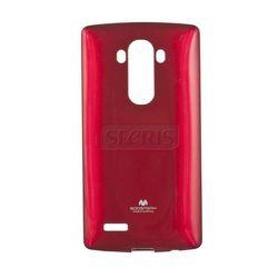 Etui GOOSPERY Jelly Case do LG G4 F500 czerwony - JC- G4-R