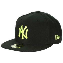 czapka z daszkiem New Era 59F Seasonal Basic MLB New York Yankees - Black/Yellow