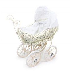Wózek wiklinowy dla lalek Ewelina