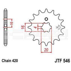 Zębatka przednia JT F546-12, 12Z, rozmiar 420 2200819 Yamaha PW 80