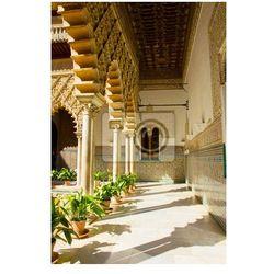 Fototapeta cortyard w Real Alcazar, Sevilla, Hiszpania